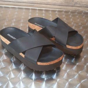 H&M Divided Black Sandals